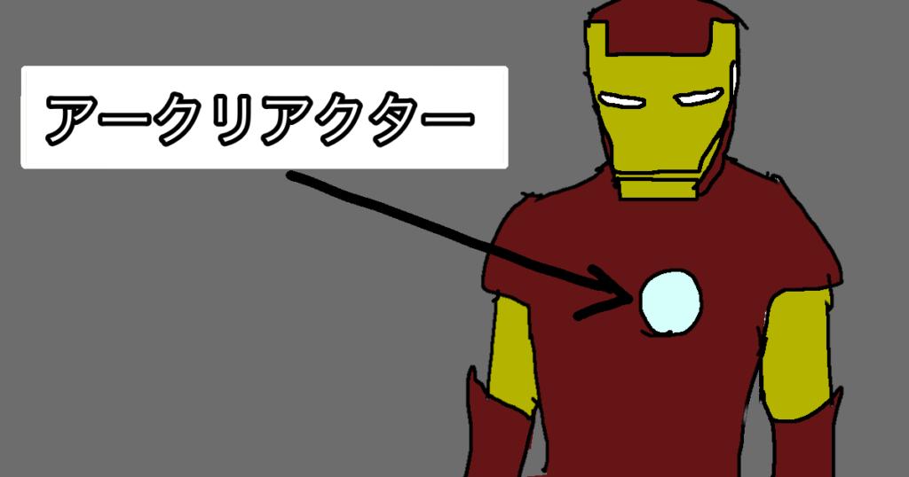 アイアンマンのアークリアクター